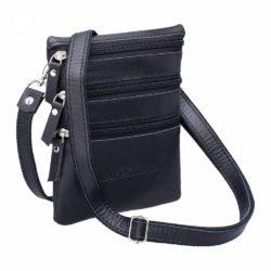 Небольшая сумка через плечо Wesley Black Черный