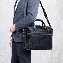 Деловая сумка Bartley Black Черный