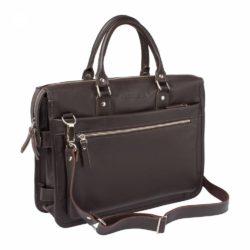 Деловая сумка Halston Brown Коричневый
