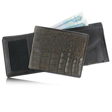 Мужской кошелек из кожи каймана