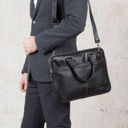 Деловая сумка Cromwell Black Черный