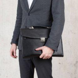 Папка-портфель Boverton Black Черный