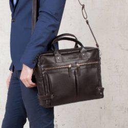 Деловая сумка Jacob Brown Коричневый