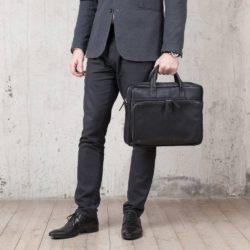 Деловая сумка Elberton Black Черный