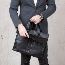 Деловая сумка Langton Black Черный