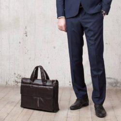 Деловая сумка Langton Brown Коричневый