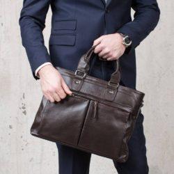 Деловая сумка Robertson Brown Коричневый