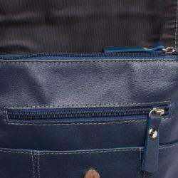 Сумка через плечо Monkton Dark Blue Синий