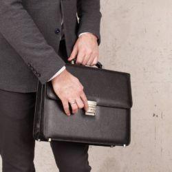 Портфель Braydon Black (F) Черный