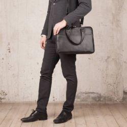 Деловая сумка Anson Black Черный