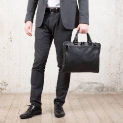 Деловая сумка Albert Black Черный