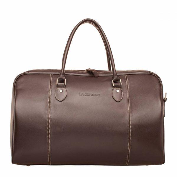 Дорожная сумка Davis Brown мужская кожаная коричневая