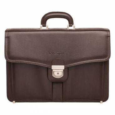 Портфель Farington Brown мужской кожаный коричневый