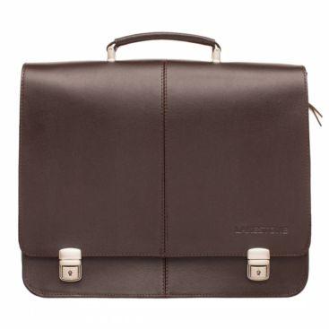 Портфель Howard Brown мужской кожаный коричневый