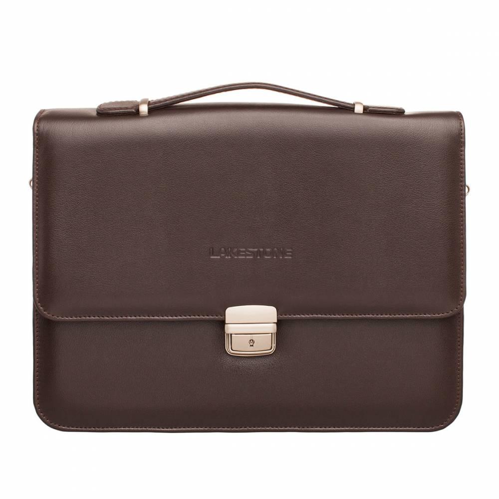 Портфель Gordon Brown мужской кожаный коричневый