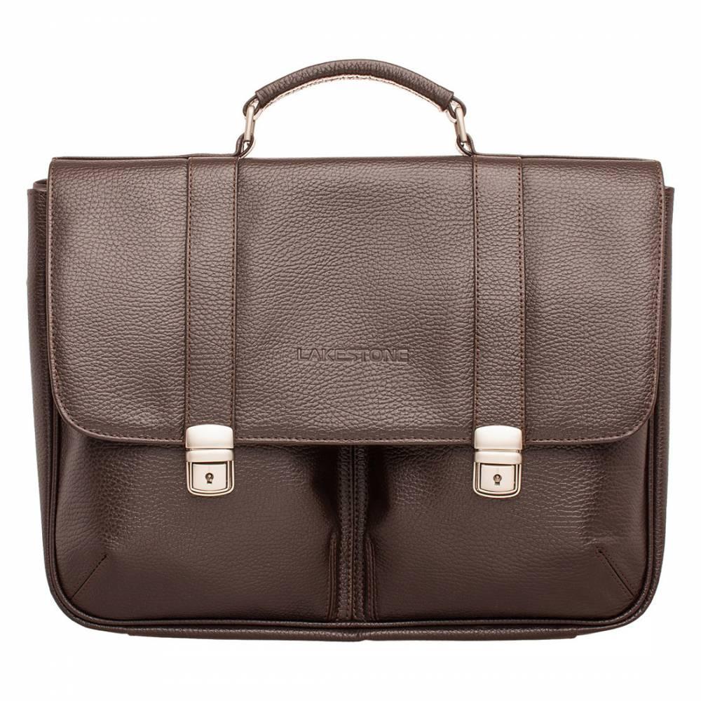 Портфель Emerson Brown мужской кожаный коричневый