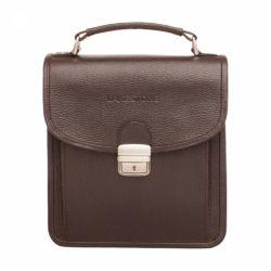 Портфель Bishop Brown мужской кожаный коричневый