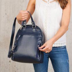 Женский рюкзак Ambra Dark Blue Синий