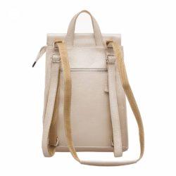 Женский рюкзак Ashley Beige Pearl Бежевый перламутр