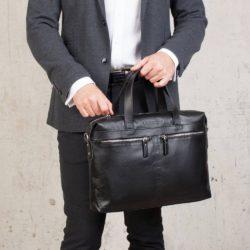 Деловая сумка Dalston Black Черный