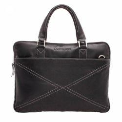 Деловая сумка Davenport Black Черный