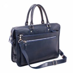 Деловая сумка Halston Dark Blue Синий