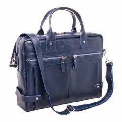 Деловая сумка Jacob Dark Blue Синий